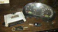 Calculator motor RESOFTAT [ecu} kit Pornire Ww Polo 9n3. 1.4 BNM