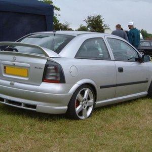 Set praguri Opel Astra G 2 OPC