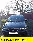 BMW seria 3 e46 FACELIFT 320D 150cp an 2005, cutie de viteze manuala 6+1