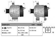 Generator / Alternator TOYOTA COROLLA limuzina (E15_) Producator DENSO DAN1011
