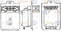 Rezistor, ventilator habitaclu SKODA SUPERB (3U4) Producator HELLA 9ML 351 303-261