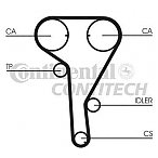 Curea de distributie CHEVROLET CRUZE hatchback (J305) Producator CONTITECH CT1077