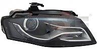 20-11463-06-2 TYC Far dr bi-xenon D3S LED AUDI A4 B8 2007.11 - 2011.10