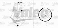 Electromotor FERRARI MONDIAL VALEO 455933