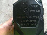 03L128063D Clapeta acceleratie audi a4 b8 2.0 tdi motor CAGC din 2009