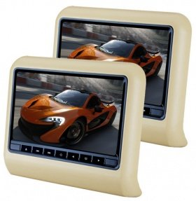 1 DVD + 1 Monitor AV SET 997 pentru tetiere
