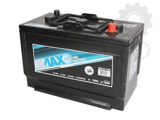 4-max baterie 190ah /1000A
