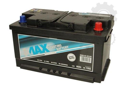 4-max baterie pornire 80a 720a