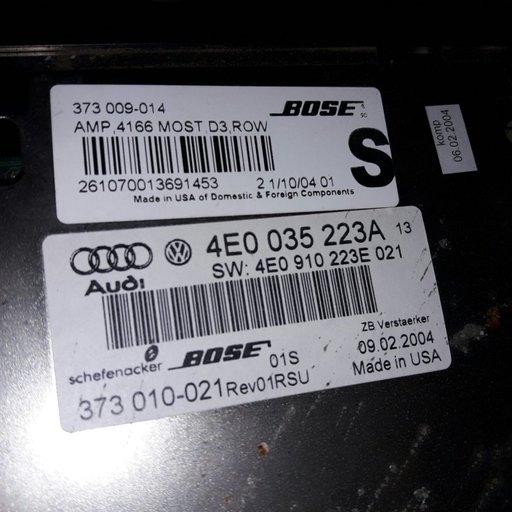 4e0 035 223 a amplificator audi a8 2002-2009