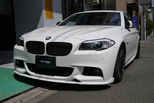 9 poze Prelungire bara fata BMW F10 F11 Hamann ver.2 pt bara pachet M tech Aerodynamic