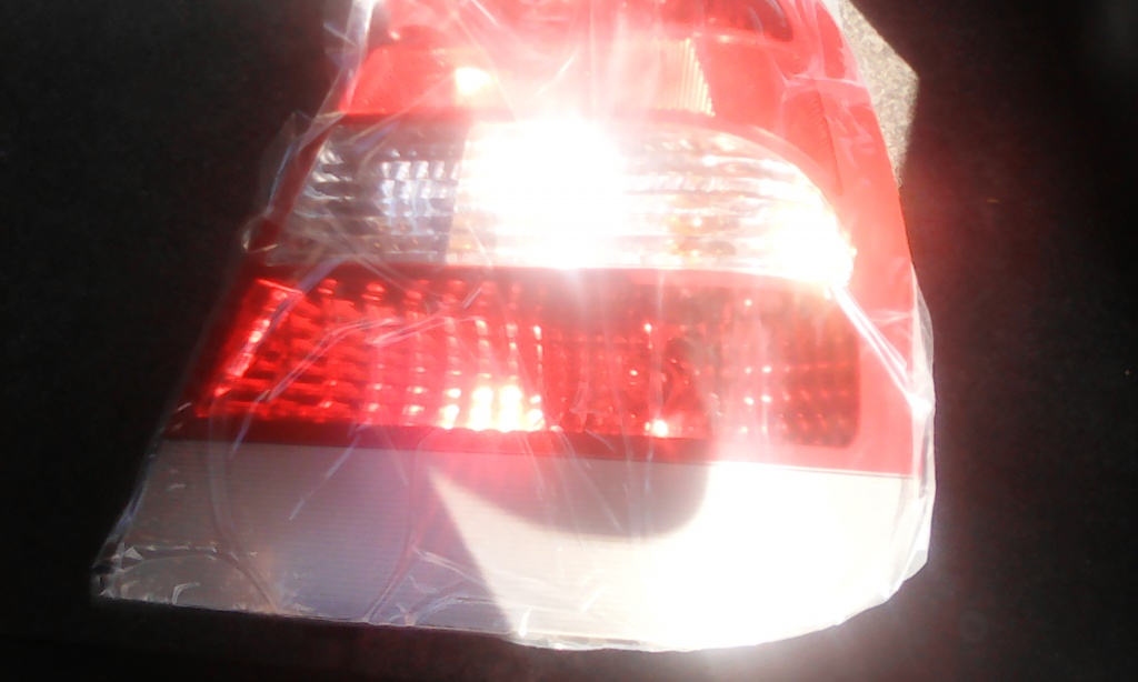 96272129 Tripla / Lampa stop dreapta Nubira II - cu banda gri -