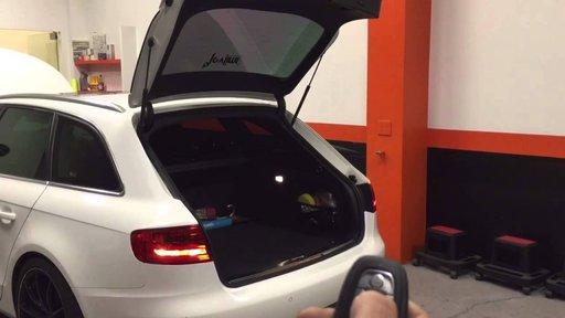 Activare Inchidere portbagaj din telecomanda -Audi A6,A7,A8,Touareg