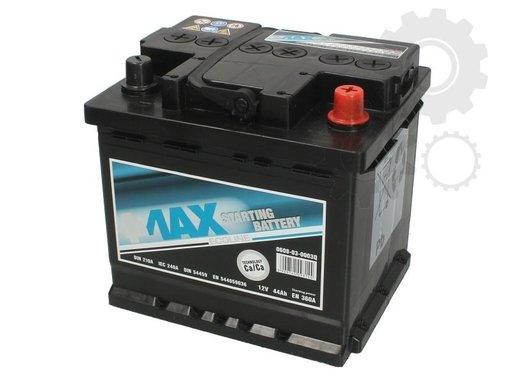 Acumulator auto 4-max 44ah 360A plus pe dreapta