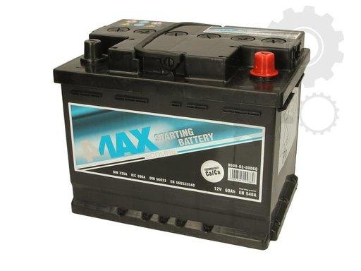 Acumulator auto 4-max 60ah 540A plus pe dreapta