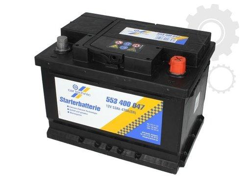 Acumulator auto Cartechnic 53ah 470A