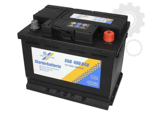 Acumulator auto Cartechnic 56ah 480A