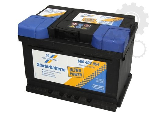 Acumulator auto Cartechnic 60ah 540A