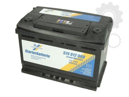 Acumulator auto Cartechnic 74ah 680A