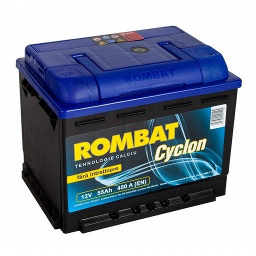 Acumulator auto Rombat cyclon 55Ah