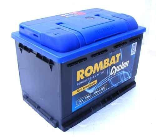 Acumulator auto Rombat cyclon 66Ah