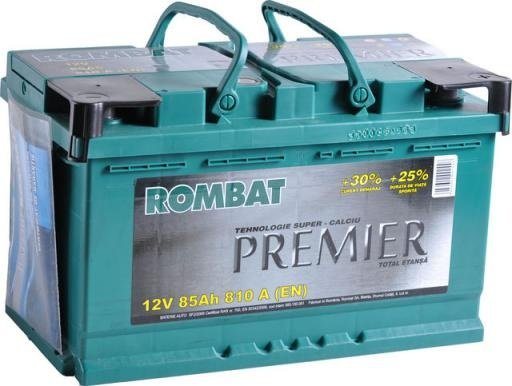 Acumulator auto Rombat Premier 85Ah
