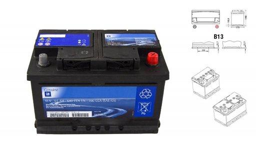 Acumulator Baterie 50 Ah Opel Corsa D Originala GM