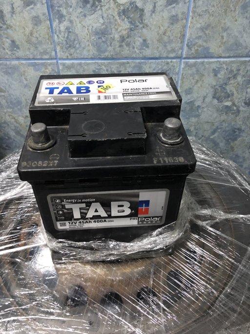 Acumulator Baterie auto 12V 45 Ah amperi an babricatie 2016