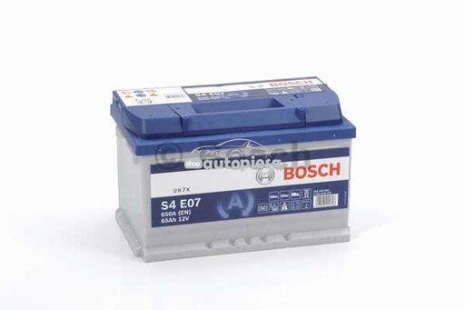 Acumulator baterie auto BOSCH S4 65 Ah 650A tip EFB (pentru sistem START/STOP) 0 092 S4E 070 - piesa NOUA