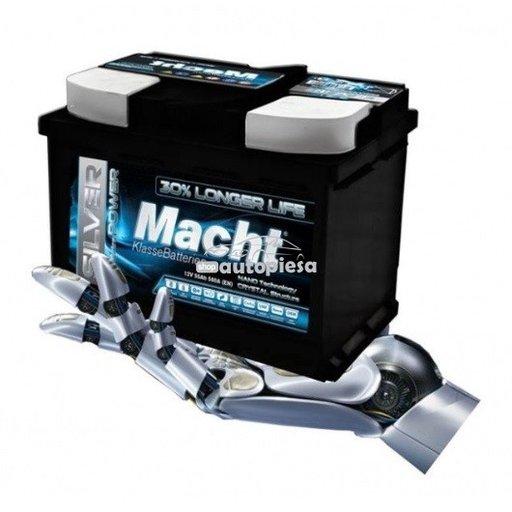 Acumulator baterie auto MACHT Silver Power 85 Ah 800A - GARANTIE 5 ANI 25876 - piesa NOUA
