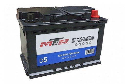 Acumulator baterie auto MTR Dynamic L3 66 Ah 540A 566002054 - piesa NOUA