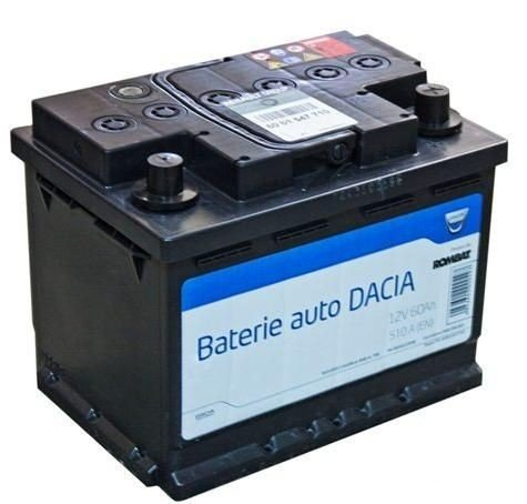 Acumulator baterie auto originala Dacia OE 60 Ah 5