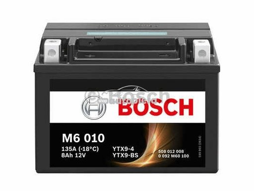 Acumulator baterie motociclete BOSCH M6 8 Ah 80A t