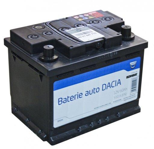 Acumulator orginal Dacia 60Ah (510Ah pornire)