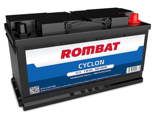 Acumulator Rombat 12V 110AH Cyclon