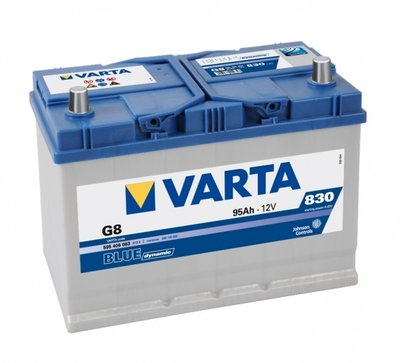 Acumulator Varta Blue Dynamic 95 Ah Borna inversa