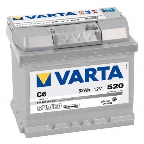Acumulator VARTA Silver Dynamic 52 AH C6 552401052
