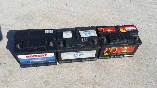 Acumulatori / baterii auto diferite modele si amperaje