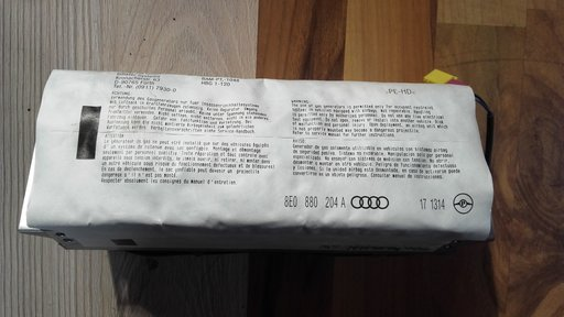 Airbag pasager audi A4 b6 cod 8E0880204a