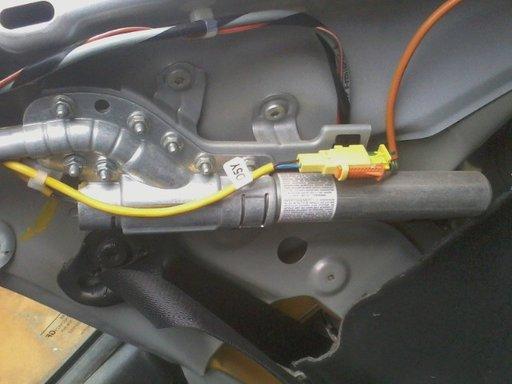 Airbag stalp dreapta opel astra g