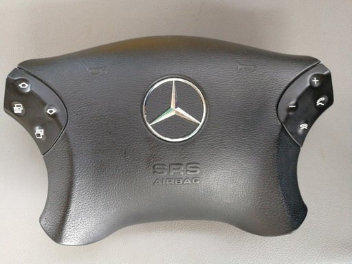 Airbag volan cu comenzi Mercedes Clasa C W203 an 2001