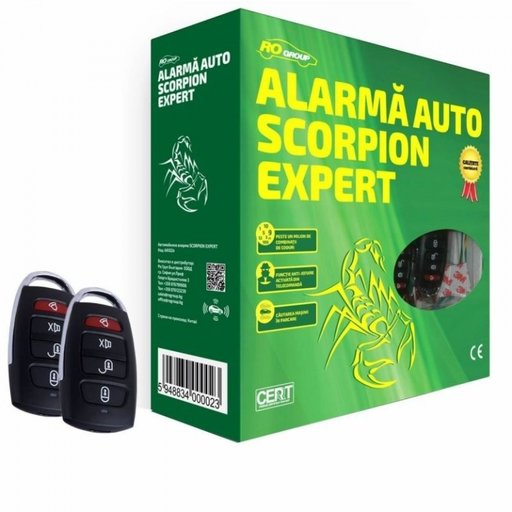 Alarma Auto Ro Group Scorpion Expert AA1024