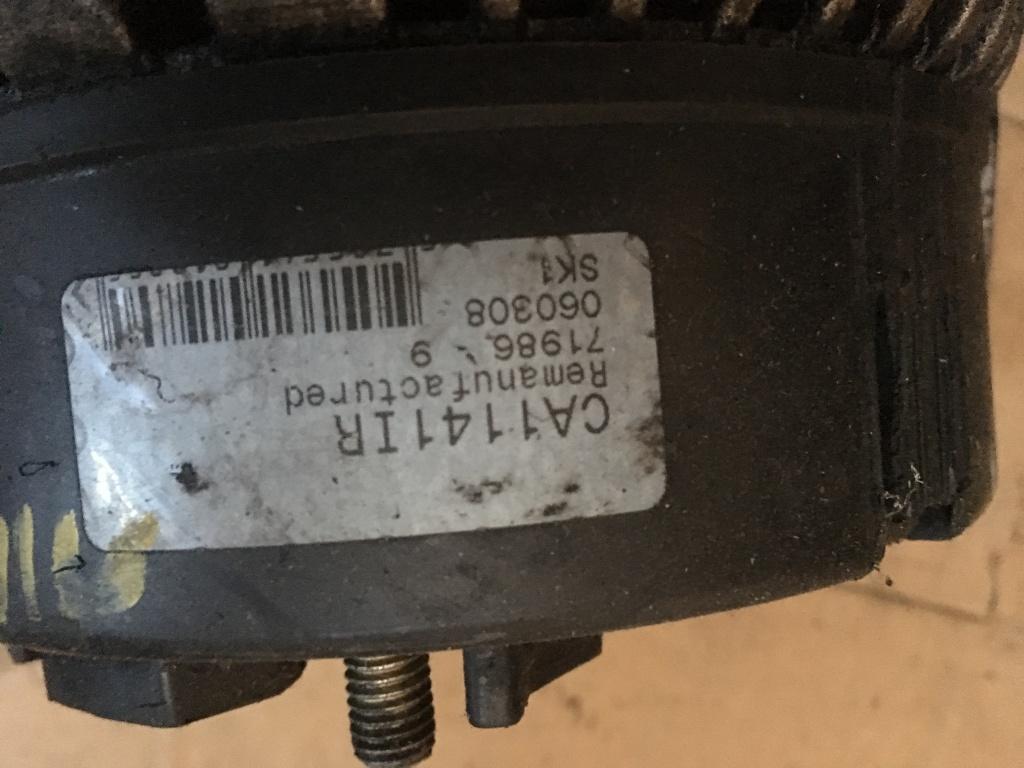 Alternator CA1141IR audi A4 2,5 Tdi 110 kw,Audi A6 2,5 tdi
