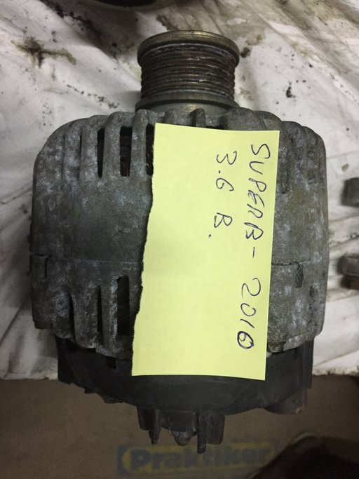 Alternator skoda superb 3.6 benzina an 2009