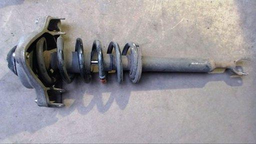 Amortizor cu arc si flansa, AUDI, 2.7 tdi+3.0 tdi, motor BPP si BMK. Fata, stanga+dreapta. Cod oem 4F0413031.