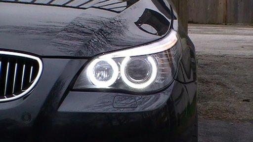 Angel eyes BMW E39 E60 E61 E65 E66 E53 X3 X5 E83 Led Marker NOU 2017 90W