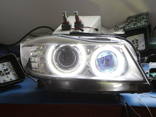 Angel Eyes Bmw Led Marker H8 120w
