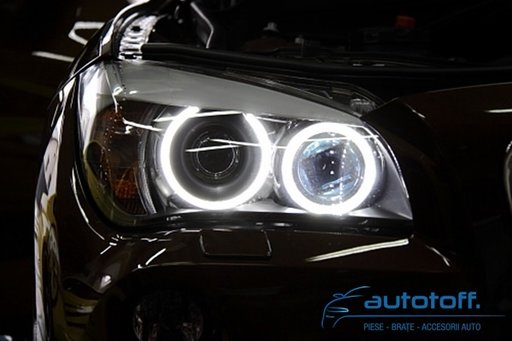 ANGEL EYES BMW X1 E84 putere 120watts ! SUPER BRIGHT