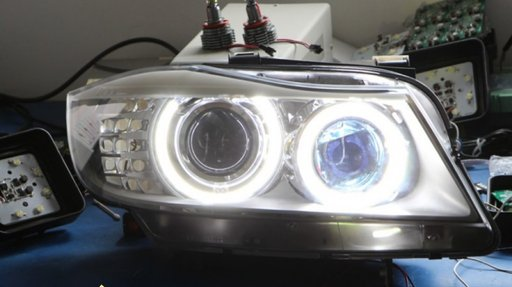 Angel Eyes Bmw x6 Led Marker H8 80w