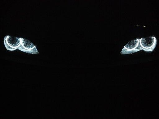 Angel Eyes CCFL compatibil BMW seria 3 E46 (far fa