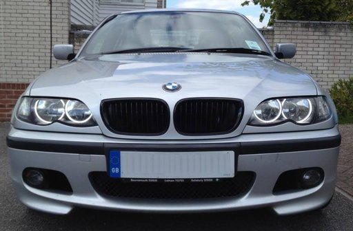 Angel Eyes compatibil BMW seria 3 E46 (far fara lupa) CCFL